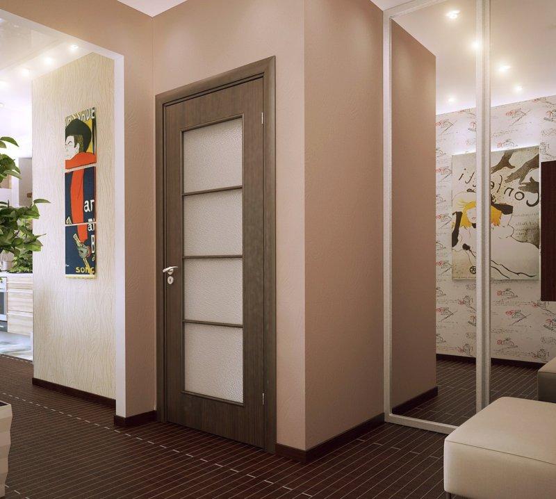 лучший цвет дверей для однокомнатной квартиры фото эффектно будет выглядеть