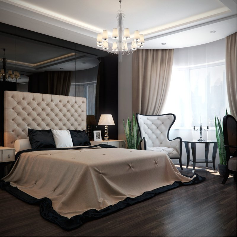 проверять фото белой спальни в стиле арт деко предназначена, как