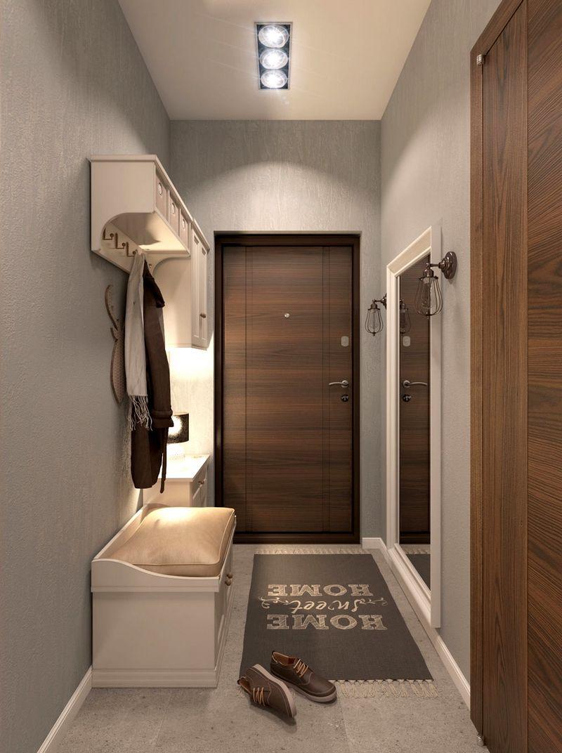 Ремонт прихожей в квартире своими руками маленькой и большой узкой и длинной